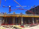 Ход строительства дома Литер 2 в ЖК Рубин - фото 14, Июнь 2020