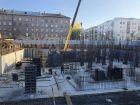 ЖК Каскад на Менделеева - ход строительства, фото 33, Ноябрь 2019