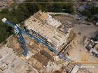Ход строительства дома Литер 1 в ЖК Звезда Столицы - фото 53, Июль 2019