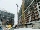 Ход строительства дома Литер 1 в ЖК Первый - фото 133, Февраль 2018