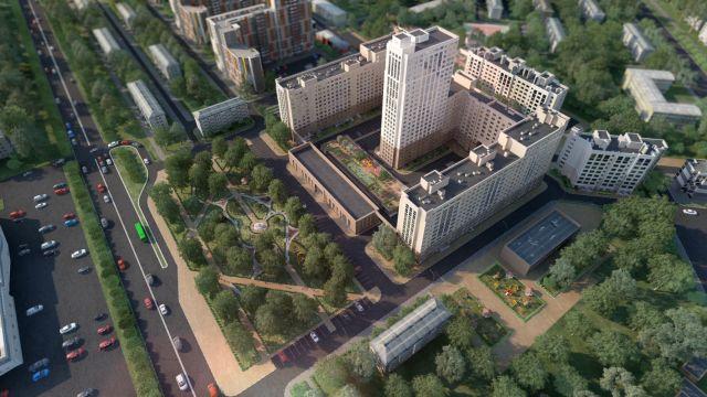 Дом 60/2 в ЖК Москва Град - фото 4