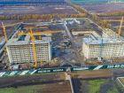 Ход строительства дома Литер 3 в ЖК Самолет 2 - фото 26, Ноябрь 2020