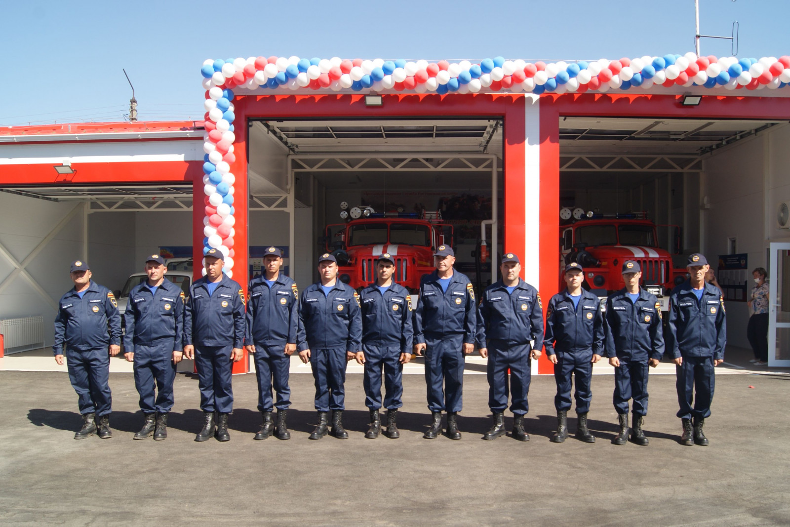 Новая пожарная часть открылась в Ростовской области