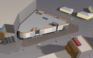 Торговые ряды «Средной» -  новое здание рынка в Нижнем Новгороде