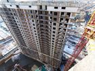 Ход строительства дома Литер 1 в ЖК Первый - фото 57, Ноябрь 2018