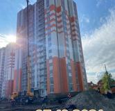 Ход строительства дома Позиция 2 в ЖК Задонье -