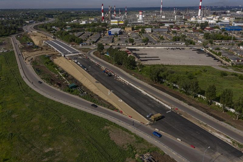 В Самаре готовят к открытию развязки II очереди Фрунзенского моста