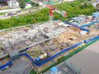 Ход строительства дома № 1 корпус 2 в ЖК Жюль Верн - фото 54, Июнь 2017