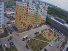 Ход строительства дома № 38 в ЖК Бурнаковский - фото 5, Май 2018