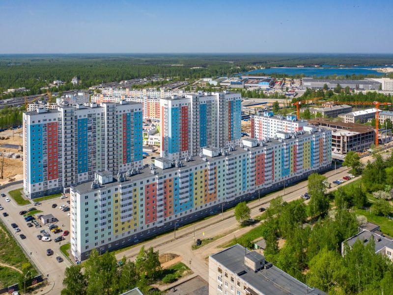 однокомнатная квартира в новостройке на проспекте Кораблестроителей дом 52