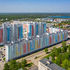 двухкомнатная квартира в новостройке на пр. Кораблестроителей, д. 4 по генплану