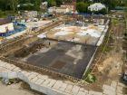 Ход строительства дома № 1 второй пусковой комплекс в ЖК Маяковский Парк - фото 101, Август 2020