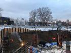 Ход строительства дома № 1 в ЖК Дом на Набережной - фото 22, Ноябрь 2020