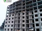 Ход строительства дома № 1 в ЖК Клевер - фото 81, Январь 2019