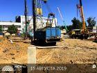 Ход строительства дома Литер 1 в ЖК Рубин - фото 54, Июль 2019