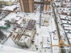 ЖК Центральный-2 - ход строительства, фото 119, Январь 2018